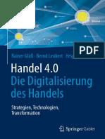 Handel 4.0 - Die Digitalisierung des Handels – Strategien, Technologien, Transformation