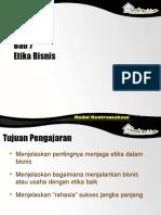 Bab 07 etika bisnis