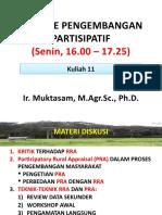 Kuliah 11 Metode Pengembangan  Partisipatif 11_Mei 2020-1