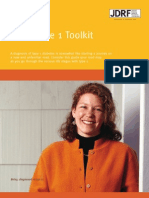 JDRF Adult Type 1 Toolkit