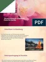 Deutschlands schönste Osterbräuche