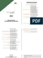 EstatutosSNTE2004