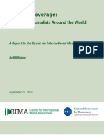 CIMA-Bribery_of_Journalists-Report-Bribery of Journalists Around the World