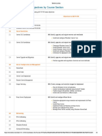 B.1.2 MS 70740 Exam Objectives by Course Section