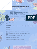 PPT PERTEMUAN 9_OPERASI LIMIT FUNGSI_KELOMPOK 2-1
