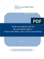 The Derivatives Dealers' Club and Derivatives Markets Reform