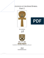 Reinterpretations of the Ankh Symbol Part 2