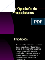 II.4  La Oposición de Proposiciones