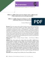 BARRETO, Cristiano. Billeter vs. Jullien - Retrato de Uma Disputa Sobre a Influência Da China Tradicional Em Sua Contemporaneidade