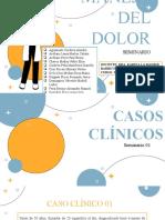 Grupo 01 - Seminario Manejo Del Dolor 2021 Terapéutica
