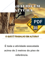 TRABALHO EM ALTURA