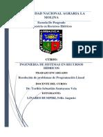 Trabajo 2 ISRH PL Metodo Grafico Felix Linares