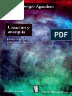Creación y anarquí - Ag