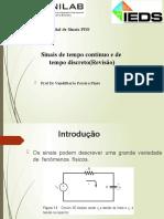PPTs - Capítulo 1_ Sistema de Tempo Contínuo e Discreto(Revisão)