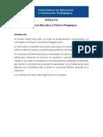 Programa del Módulo 8