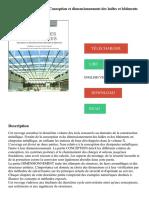 Charpentes métalliques _ Conception et dimensionnement des halles et bâtiments PDF - Télécharger, Lire