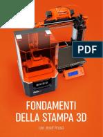 Fondamenti Della Stampa 3d