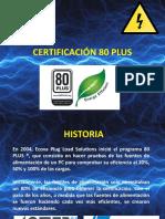 Certificación 80 Plus