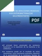 diagnostico y manejo de enterobacteriaceae multirresistente