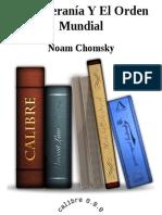 La soberania y el orden mundial - Noam Chomsky
