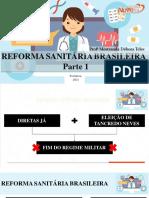 PS - Aula 3 e 4 -Reforma Sanitária Brasileira - NOVETEC (1)
