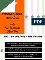 PS - Aula 6 - Epidemiologia em Saúde - NOVETEC
