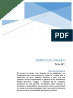 Derecho Del Trabajo Taller 1 Paula Valencia