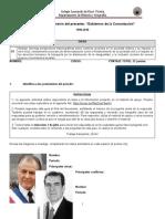 3°Medio Comprensión del Presente - Gobiernos de la Concertación