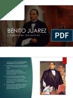 BENITO JUAREZ Y ANTONIO LOPEZ DE SANTA ANNA