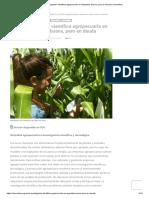 La Investigación Científica Agropecuaria en Argentina_ Buena, Pero en Deuda _ CienciaHoy