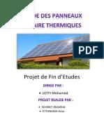 Panneaux Solaires Thermiques Test