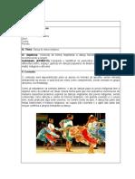 Plano de Aula sobre danças regionais do centro oeste