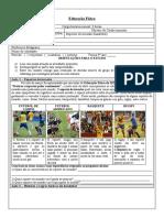 Apostila mensal - EDUCAÇÃO FÍSICA  HANDEBOL - 9 ano