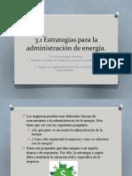 374319425 3 1 Estrategias Para La Administracion de Energia