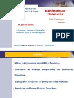 cours mathématiques financières __ Partie 1
