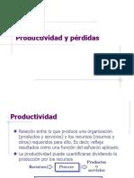 PRODUCTIVIDAD Y PERDIDAS