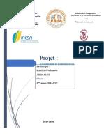 Projet mécanismes et transmission