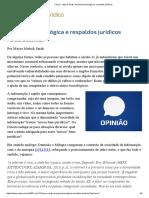 Anarquia Tecnológica e Respaldos Jurídicos | Consultor Jurídico - CONJUR