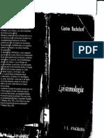 Bachelard-epistemología Puntos de Partida Caps 1 y 2
