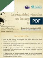 FERNANDO SALINAS- La seguridad vincular en las experiencias educativas tempranas