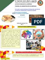 Características de La Asociatividad, Integración, Gestión de Recursos, Riesgos Compartidos, Trabajo en Equipo