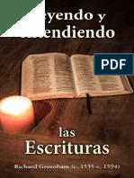 Leyendo y entendiendo las Escrituras