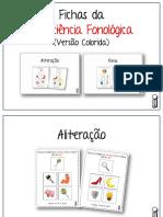 2 - FICHAS CONSCIÊNCIA FONOLÓGICA - VERSÃO COLORIDA