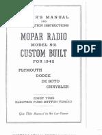 Chrysler Radio