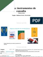 FREDO E INDA. Lengua+primera+tarea+instrumentos+de+consulta