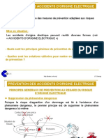 prevention accidents origine electrique