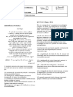 Monitoria - Literatura. Lista 2