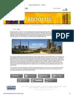 Ambuja Cements Ltd. - History