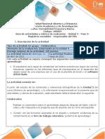 Guia de actividades y Rúbrica de evaluación - Unidad 2 - Fase 3-Registros contables - resp