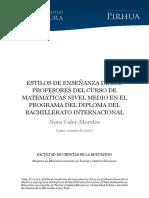 2017_Valder_Tesis Estilos Enseñanzas Math IB